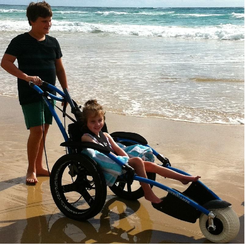 Hippocampe Wheelchairs All Terrain Beach Wheelchair