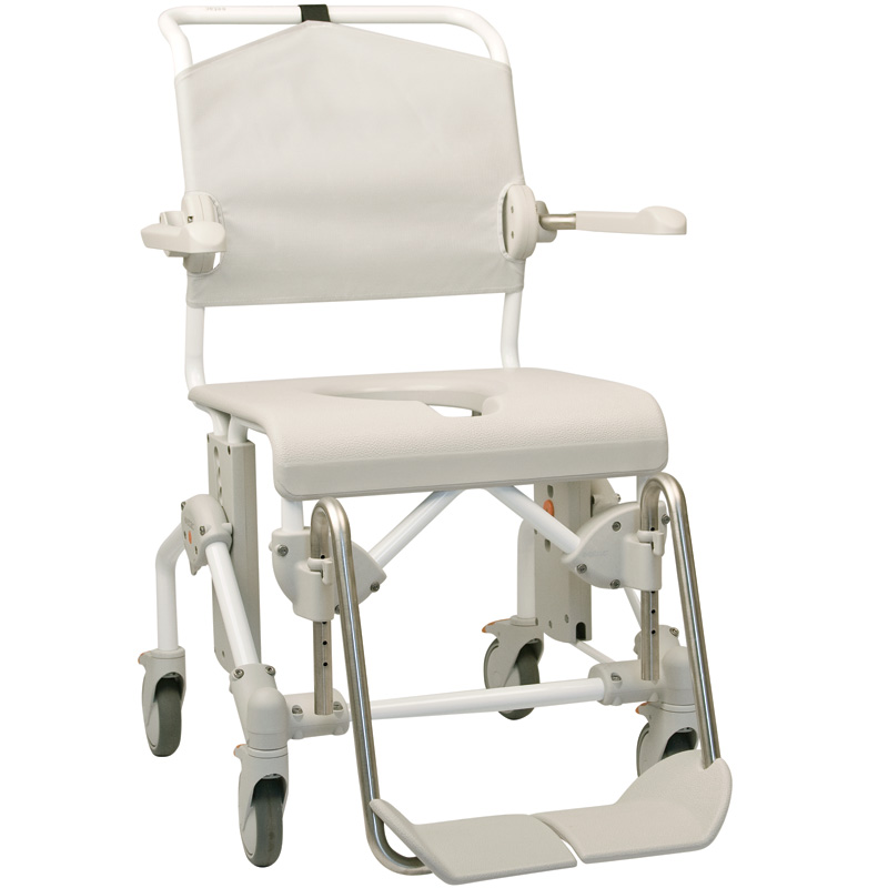 etac swift mobile shower commode chair scooter world